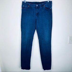 Kut From The Cloth Dark Wash Skinny Jeans Size 14